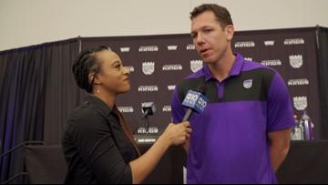 News Kings coach Luke Walton talks to ABC10 about his desire to come to Sacramento