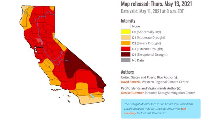 What 'exceptional' drought really means for California