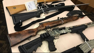 Police raids in Stockton, Tracy net multiple arrests, recover dozens of guns and drugs