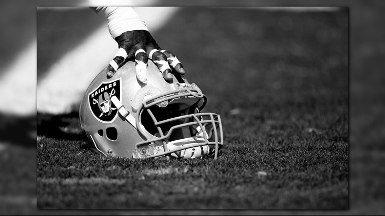 Oakland Raiders rookie defensive tackle P.J. Hall will miss this week's game at Denver with an ankle injury.