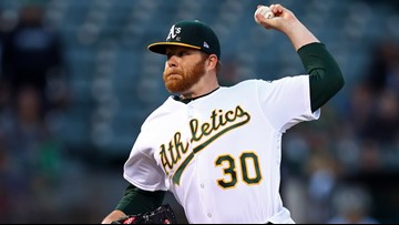 Left-hander Brett Anderson back with the Athletics again