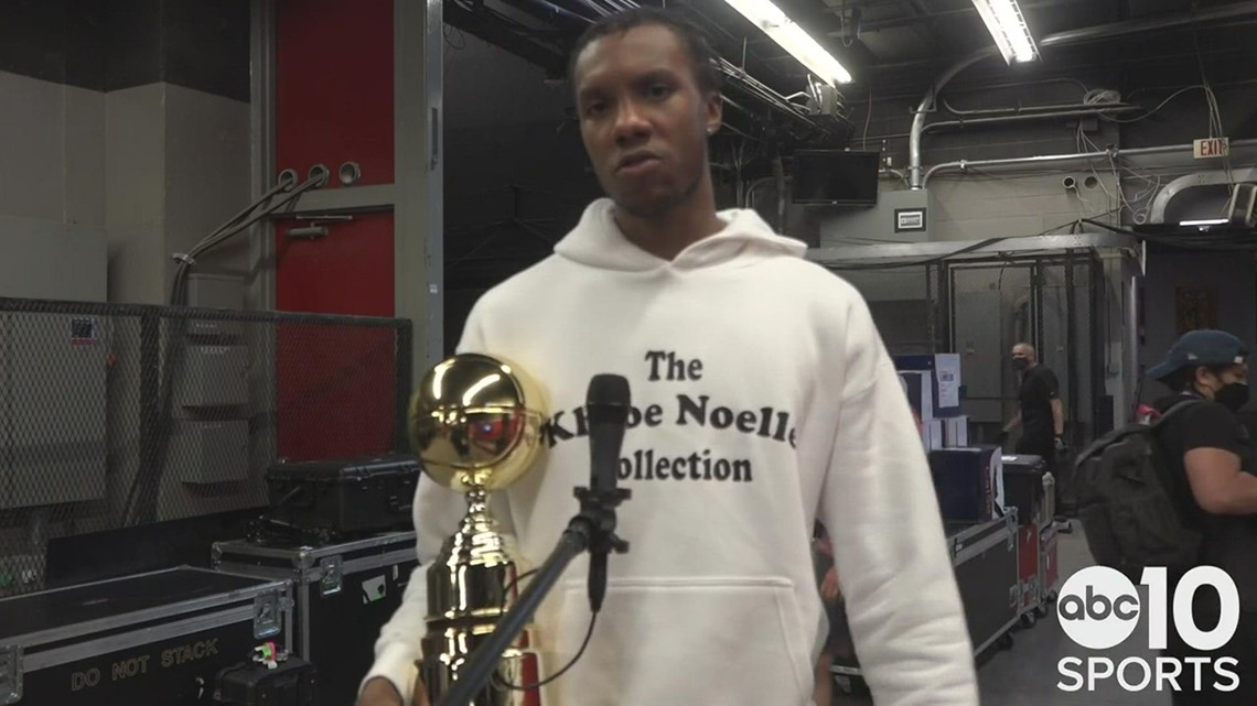 Louis King on winning the NBA Summer League MVP in the Sacramento Kings Championship win