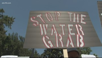 Farmers speak out against 'water grab' approval