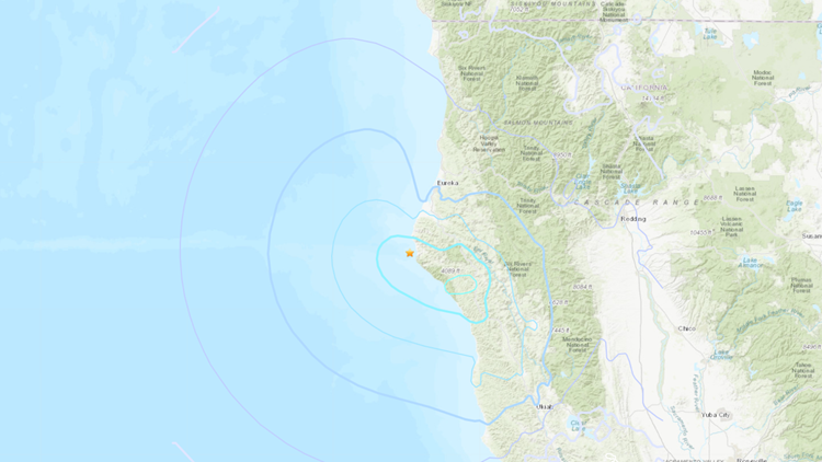 5.1 earthquake strikes off Northern California coast