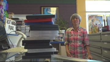 One of Sacramento's last video rental stores to close its doors