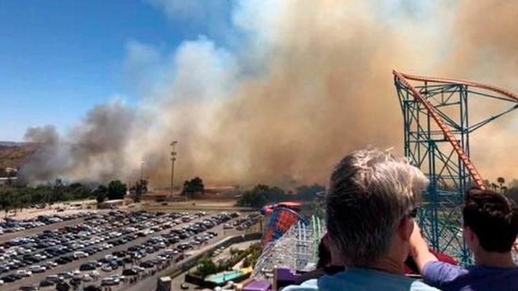 Amusement Park Wildfire