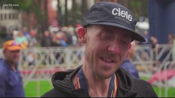 How cancer, weight loss got one man across the California International Marathon finish line