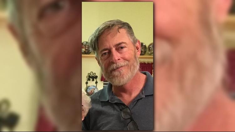 Greg Scharmacher, 59, was last seen leaving Scripps Drive in a gold Chevy Trailblazer.