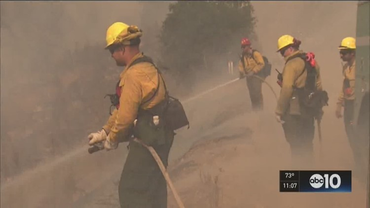 Regional firefighters assist with Sand Fire