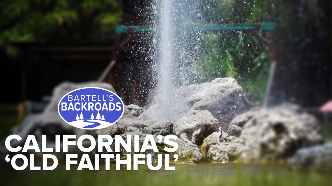 California's 'Old Faithful' geyser is still gushing but the drought is taking its toll | Bartell's Backroads