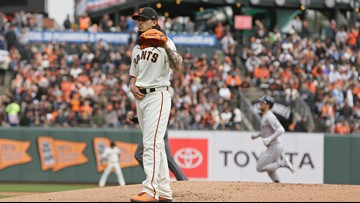 Giants' home opener spoiled by Rays