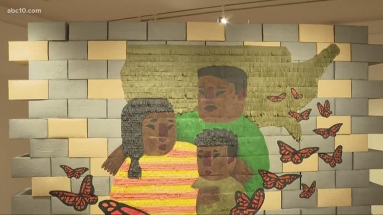 San Joaquin Delta College opens a new art exhibit that focuses on the border crisis