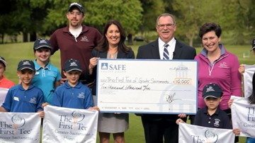 Kids benefit from The First Tee of Greater Sacramento