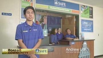 SAFE Credit Union has bank branches on high school campuses