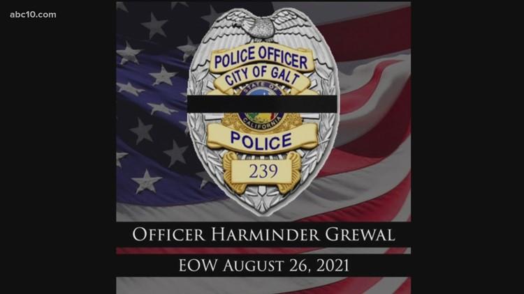 LISTEN: End of Watch radio call for Galt Police Officer Harminder Grewal