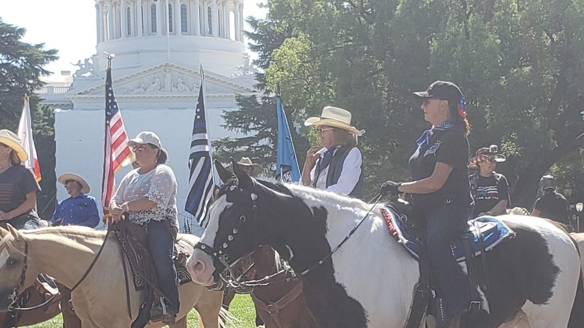 Cowboy's Honor Ride for Officer Tara O'Sullivan