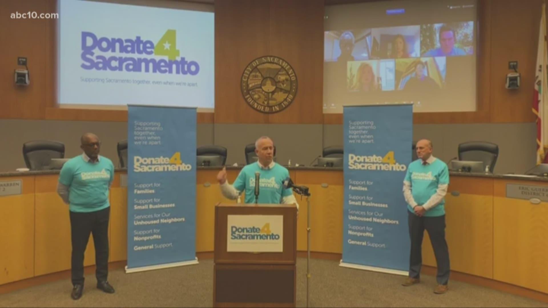 Sacramento City Leaders To Launch 1m Relief Fund Abc10 Com