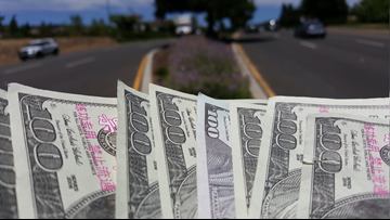 Fake $100 bills thrown from moving vehicle in El Dorado County