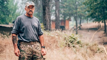 Carr Fire: Despite evacuations, these people aren't going anywhere