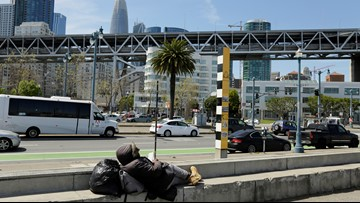 San Francisco's battle for a large waterfront homeless