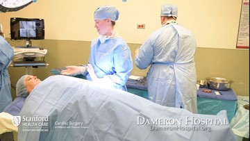 Specialized heart and lung treatment at Dameron Hospital