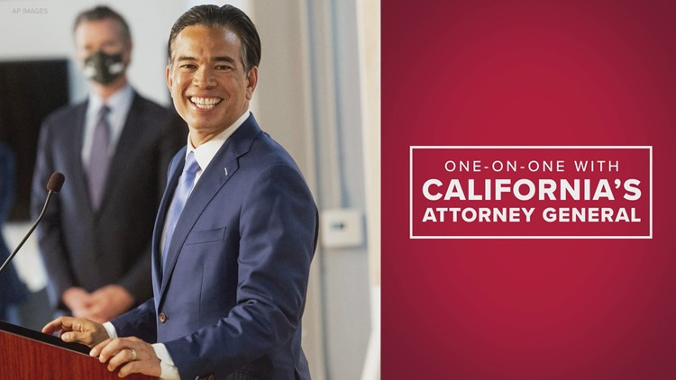 California Attorney General Rob Bonta pledges 'strong action' on hate crimes