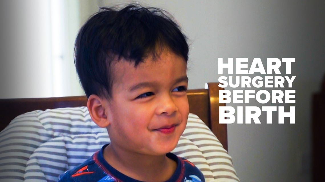 How a baby was saved by a rare fetal heart surgery | Children's Miracle Network