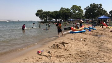 Why swimming is banned from the Woodward Reservoir until April