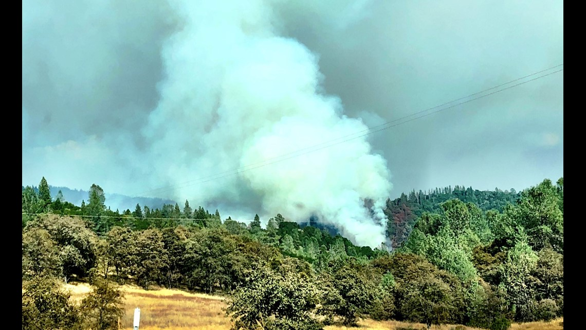 Gas Prices In California >> Sliger Fire: Evacuations issued for Auburn Lake Trails ...