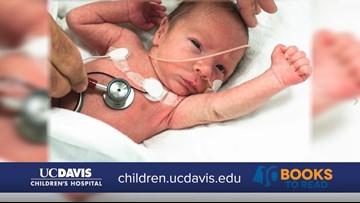Infant congenital heart defect