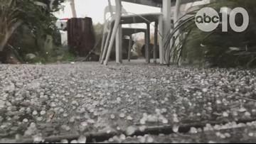 Hail in Sacramento | RAW