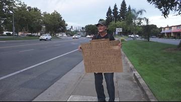 Kindness of strangers on Facebook helps retired vet get job