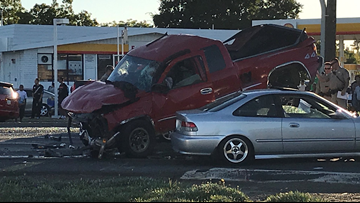 Multiple injuries after 'speeding, erratic driver' causes Sacramento County crash
