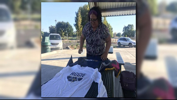 West Sacramento mom collecting collegiate T-shirts to inspire children
