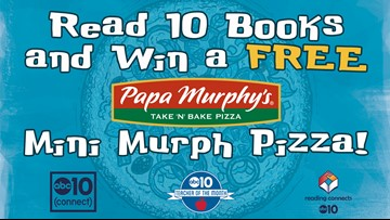 Read 10 Books and Win a Papa Murphy's Pizza!