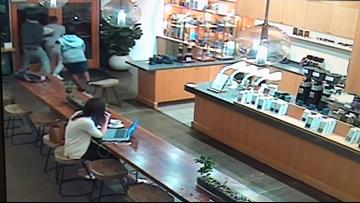 Suspects swipe laptops at Davis coffee shops
