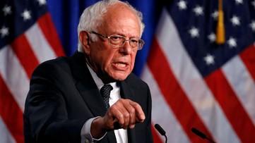 Bernie Sanders campaigns against PG&E in California
