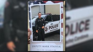 How the community is honoring Deputy Mark Stasyuk