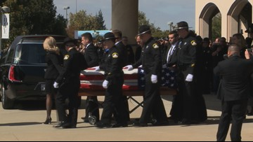 Law enforcement officers from all over pay tribute to Deputy Mark Stasyuk