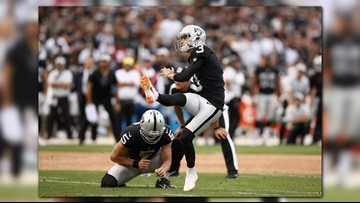 Raiders rally past Browns 45-42 in OT for 1st win for Gruden