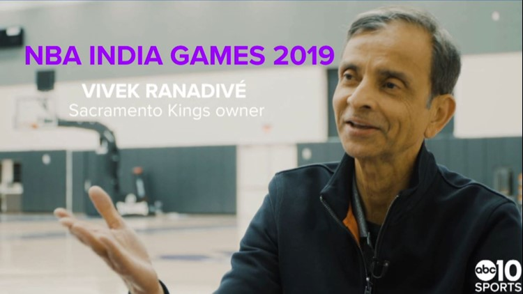 One-on-one with Sacramento Kings owner Vivek Ranadive before historic trip to India
