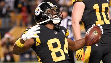 AP source: Raiders acquire WR Antonio Brown from Steelers