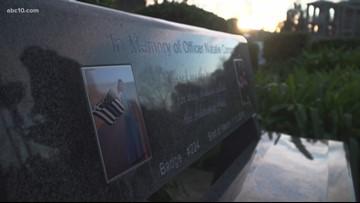 Fallen officer Natalie Corona's memory lives on in Davis