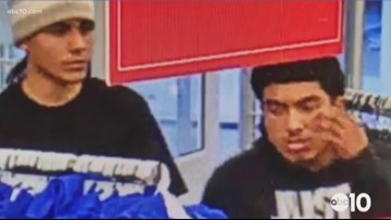 2 men wanted for large theft at Kohl's