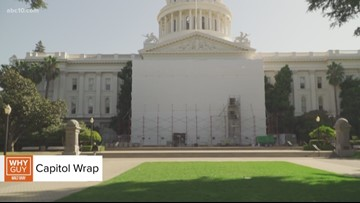 Why Guy: Why is the Capitol building covered in plastic?