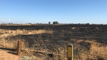 How a 'controlled' burn near Mather Airport broke containment