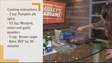 Begely's Bargains: Pumpkin spice pork tenderloin recipe for autumn