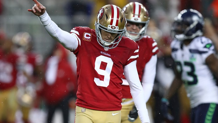 49ers kicker Robbie Gould assists 'promposal' for Yuba City High School student