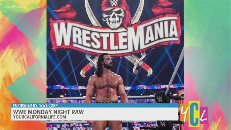 WWE Monday Night Raw in Sac