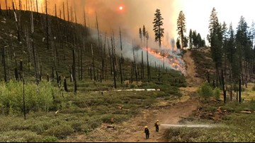 Walker Fire containment continues to grow; evacuation orders lifted